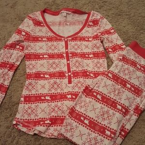 Victoria Secret Holiday Pajamas